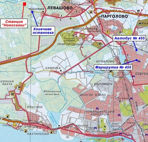 План-схема станции:
